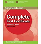 [(Complete First Certificate Teacher's Book)] [ By (author) Guy Brook-Hart ] [June, 2008]