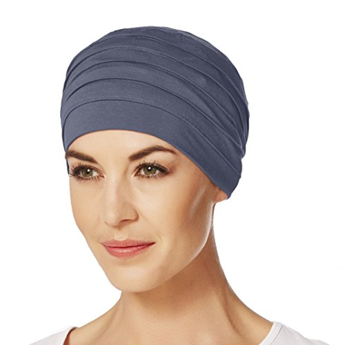 Christine Headwear Bambus Turban Yoga - blu