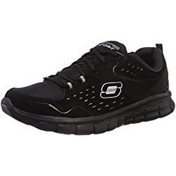 Skechers - Synergy Front Row, Sneakers da donna, nero (bbk), 37