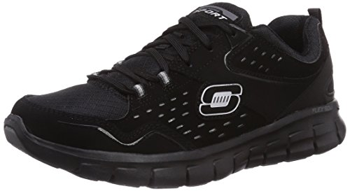 Skechers synergy - front row , mujer, negro (bbk), 39