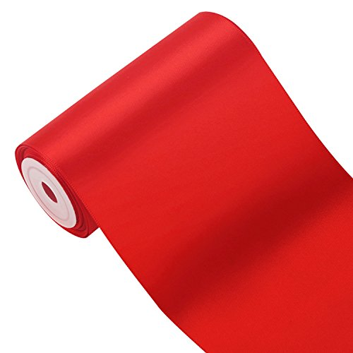 laribbons-45m-x-100mm-breite-solid-color-double-face-satin-band-rot-