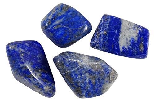HARMONIZE LAPISLÁZULI roulées tamaño clasificado Piezas Piedras- 4 Reiki Naturel