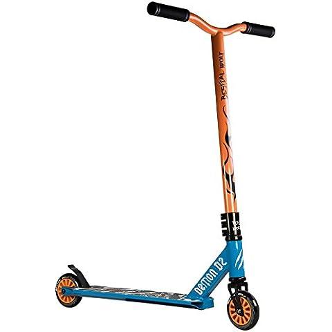 Monopattino Bestial Wolf Demon D2Blu–Arancione Azul - Naranja - Freestyle Skate Shop