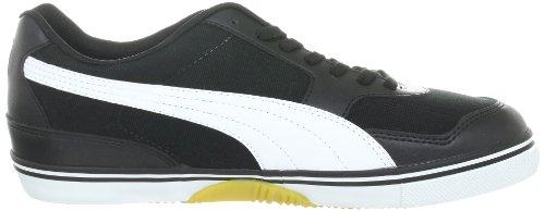 Puma  Paulista 2.0, chaussures de sport - intérieur homme Noir - Schwarz (black-white-gold 02)