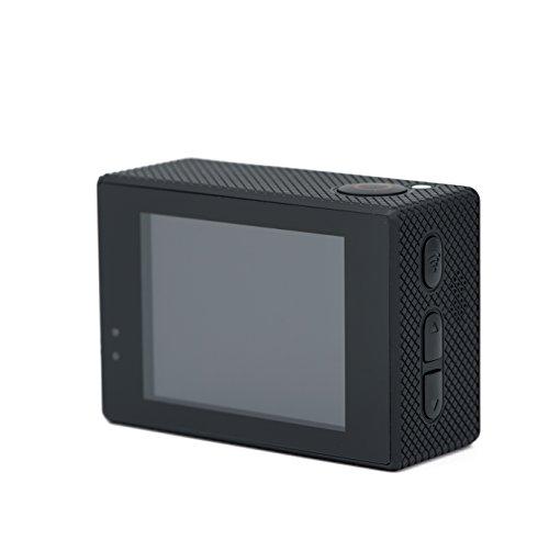 QUMOX SJ5000X Elite 2K 30fps 720p 120fps 4K NTK96660 Exmor IMX078cqk sensor Gyro cámara de la acción WiFi HD Deportes DV, Color negra