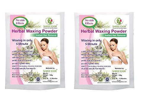SHREE EXIM Herbal Waxing Powder Instant Hair Remover (200 g)