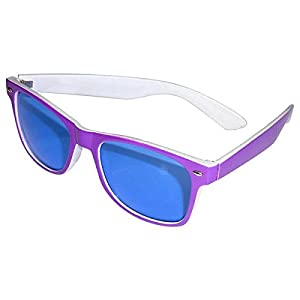 "Fiesta Gafas""colorido de Blues Brother"" púrpura"