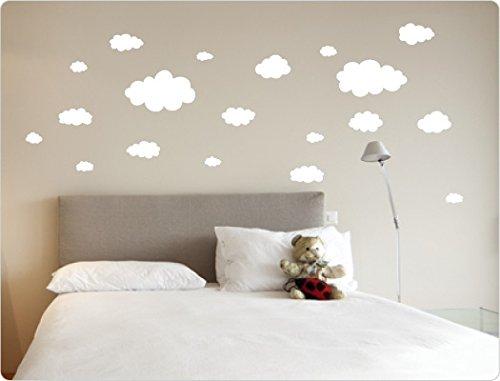 """Preisvergleich Produktbild I-love-Wandtattoo 10248 Wandtattoo """"Wolken"""" Schlafzimmer Wandaufkleber Wandsticker"""