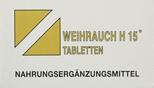 h15 weihrauch kapseln Bios Medical Services Weihrauch H 15 Tabletten, 100 Stück, 1er Pack (1 x 65 g)