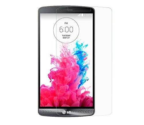 Protector de Pantalla para LG G3 Cristal Vidrio Templado Premium, Electrónica Rey®