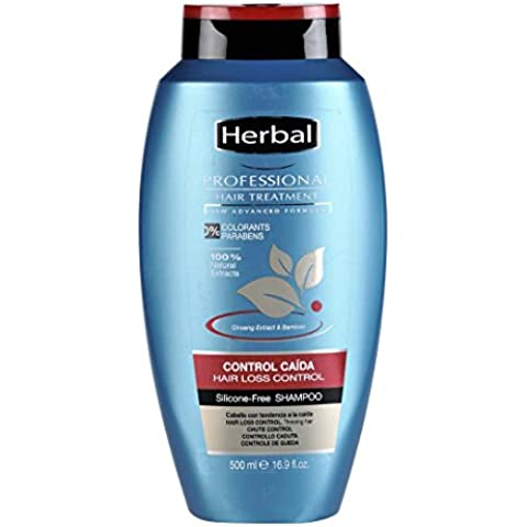 Herbal Professional Treatment Hair Loss Control Champú - 500 ml
