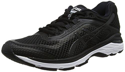 ASICS GT-2000 6, Scarpe Running Donna, Nero (Black/White/Carbon 9001), 38 EU