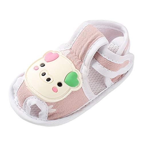 koperras Babyschuhe Baby Cartoon Ferkel Sandalen Kleinkind Schuhe Weichen Boden Klettverschluss Bequem Atmungsaktiv Einfarbig Niedlich
