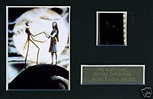 The Nightmare Before Christmas Limited Edition Film Cell m