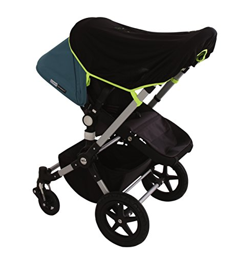 SnoozeShade Original – baby sunshade and blackout blind that fits all prams and pushchairs (blocks 99% UV)
