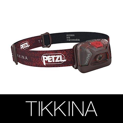 Petzl -Literna Tikkina Rojo