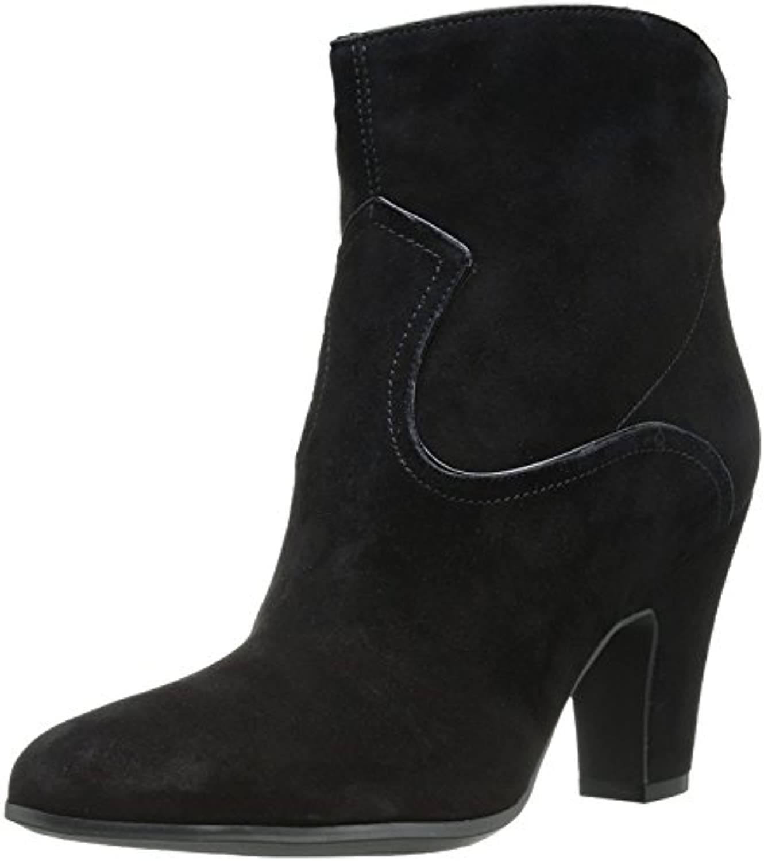 Nine West Women'S Quarrel Suede Boot, Black/Black, 41 B(M) EU/8 B(M) UK