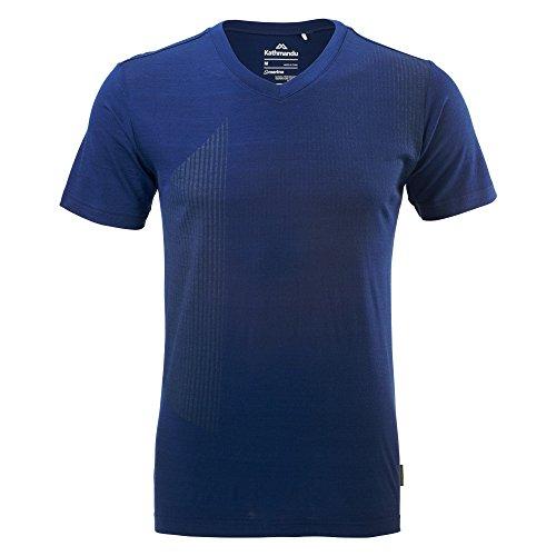Kathmandu Sarn T-Shirt aus Merinowolle für Herren