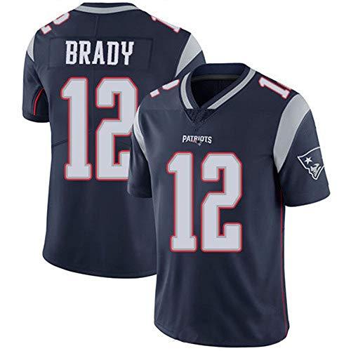 MCS NFL Fußballbekleidung legendäre Patriots American Stickversion der zweiten Generation von Fußballbekleidung (Nfl Patriots Frauen Jersey)
