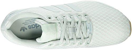 Adidas Zx Flux - Scarpe da Ginnastica Basse Unisex – Adulto Verde (Vapour Green/Vapour Green/Gum)