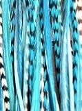 Sexy Damen Feder Hair Extension Light funkelt Remix 15,2cm–12
