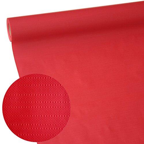 50m x 1,15m JUNOPAX® Papiertischdecke aurora-rot | nass- und wischfest