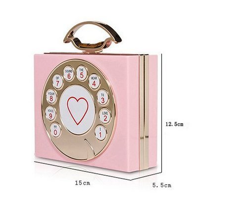 YOUAREFACNY - Borsa a tracolla donna Pink