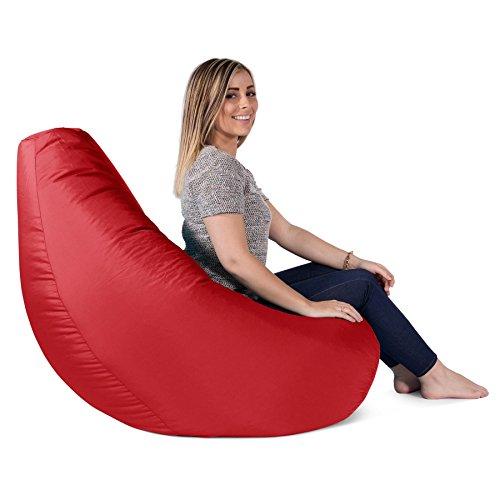 highback gaming sitzsack loungesessel mit passendem hocker. Black Bedroom Furniture Sets. Home Design Ideas