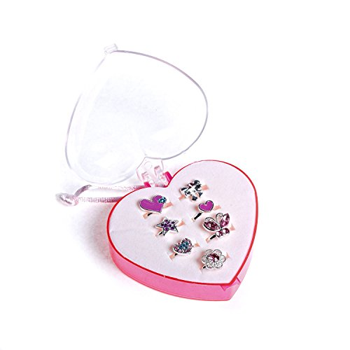 claires-kids-adjustable-pretty-rings-fitted-in-box-fashion-7-pack-in-pink