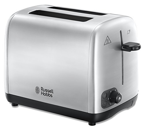 Russell Hobbs 24081 Two Slice Toaster, Brushed Stainless Steel