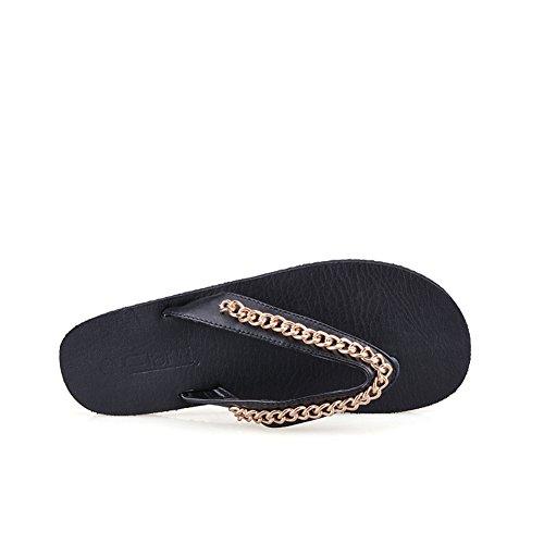 Appartamento casuale infradito/vibrazione dei sandali e ciabatte/Sandali delle signore B