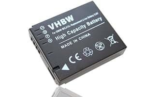 Batterie LI-ION avec infochip pour PANASONIC Lumix DMC-LX5, DMC-LX7 etc. remplace Panasonic DMW-BCJ13, DMW-BCJ13E, Leica BP-DC10, BP-DC10E