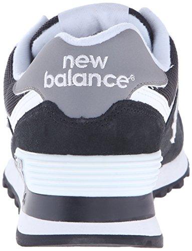 New Balance Classics Traditionnels Black White Womens Trainers Black/White