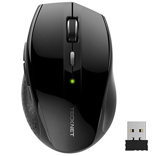 mouse-senza-fili-tecknet-alpha-mouse-wireless-24g-30-mesi-di-durata-della-batteria-3000-dpi-con-5-re