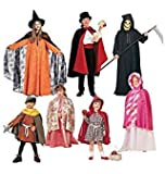 Children's, Boys' and Girls' Cape and Tunic Costumes, M2854, All Sizes