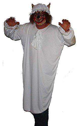 Ma'Nighty Red Riding Hood-Kostüm Halloween Kostüm (Riding Hood Wolf Kostüm)