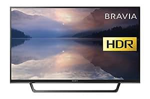 Sony KDL32RE403BU Bravia KDL32RE403 32-Inch HD Ready HDR TV (X-Reality PRO, USB HDD Recording), Black (2017 Model)
