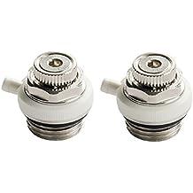 Sanitop-Wingenroth - Válvula de ventilación para radiadores (2 unidades, ...