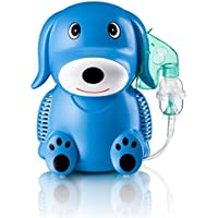 Preisvergleich für Only For Baby Blue Puppy Inhaliergerät Kinder Inhalator Aerosol Therapie Vernebler Inhalation Kompressor Aerosolvernebler...