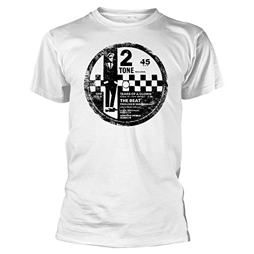 The Beat Tears of a Clown Label , fficial Unisex  T Shirt, S to XXL