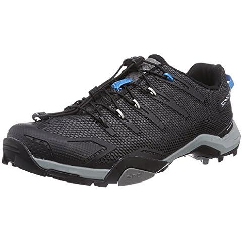 Zapatos de bicicleta de montaña Shimano adultos kanirope MT 44 L, colour negro, 37, 2013273700