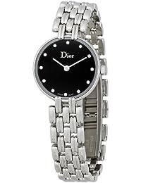 Christian Dior Femmes CD092110M006 Bagheera inoxydable Montre-bracelet en  acier 3b47509ac0f