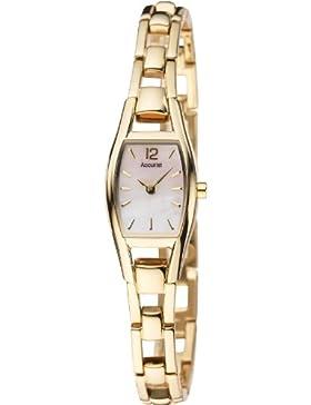 Accurist Ladies' Gold Tone Petite Dress Watch - LB1036PX