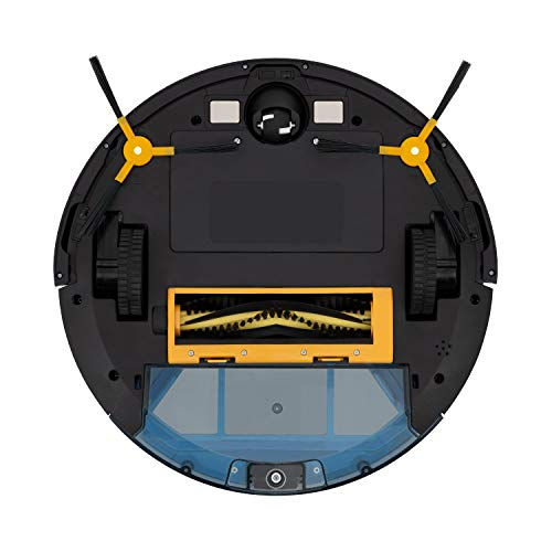 IKOHS NETBOT S15 - Robot Aspirador y Fregasuelos 4 en 1, mapeo navegación Inteligente y App, Barre, aspira, friega y Pasa la mopa, automático Carga, Especial Mascotas, para Suelos Duros y alfombras