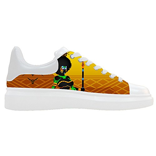 dalliy African woman Mens Canvas Shoes Chaussures Lace Up High Top pour Sneakers Toile Chaussures de chaussures de toile chaussures de sport C