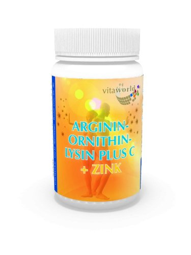27b28755e1bb Vita World Arginine Ornithine Lysine + Zinc + Vitamine C 60 Capsules Made  in Germany