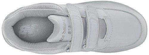 New Balance Men's MW813V1 Walking Shoe, Black, 10 2E US Grey