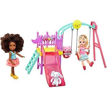 Mattel X9060 - Parco giochi Barbie e le sue sorelline