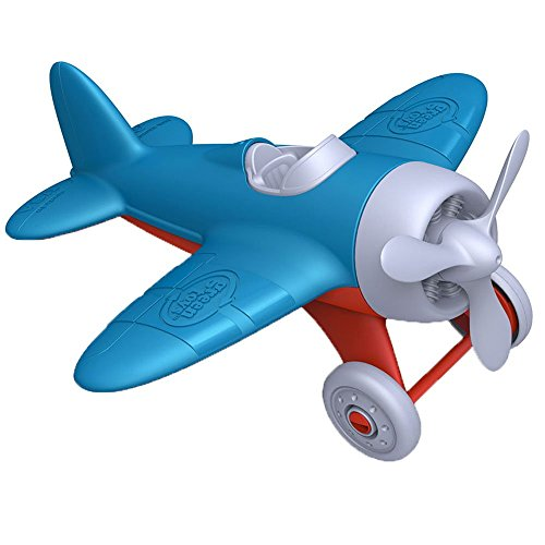 Green Toys Airplane (Blue)