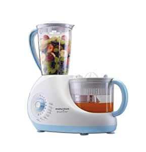 Morphy Richards Smart Chef 1000-Watt Food Processor (White and Blue)